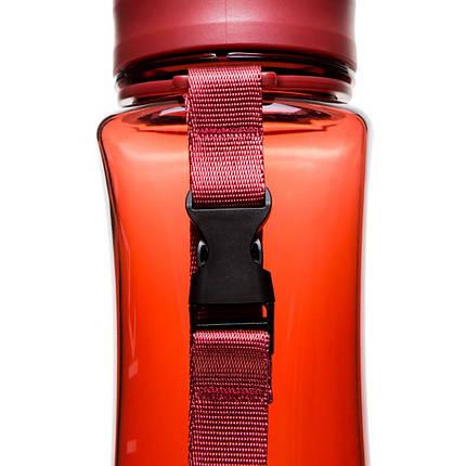 Бутылка фляга спортивная для воды UZspace 6006 500 мл Красный (gr_012068), фото 2