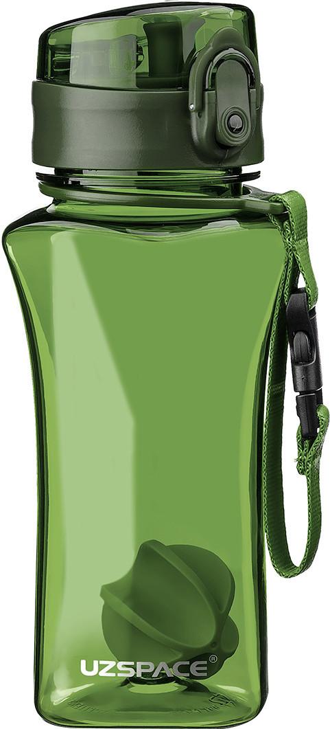 Бутылка фляга спортивная для воды UZspace 6005 350 мл Зеленый (gr_012062)