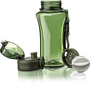 Пляшка фляга спортивна для води UZspace 6005 350 мл Зелений (gr_012062), фото 2