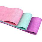 ОПТ Тканевые резинки для фитнеса Hip Resistance Band 3 шт 8-31кг, набор лент для тренировок, фото 4