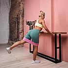 ОПТ Тканевые резинки для фитнеса Hip Resistance Band 3 шт 8-31кг, набор лент для тренировок, фото 7