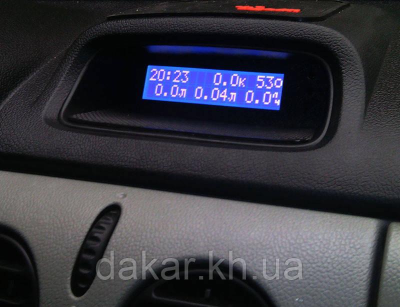 автомобильный бортовой компьютер «циклон» на renault kangoo