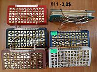 Клатч-кошелек Celin l с металлическими ручками