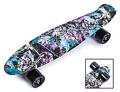 """Penny Board """"Forest""""."""