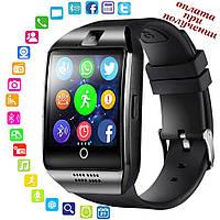 Умные Smart Watch смарт фитнес браслет часы трекер Q18 ПОШТУЧНО на РУССОКОМ в стиле SAMSUNG Apple Series Watch, фото 1