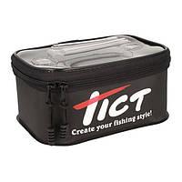 Сумка Tict Compact Handy case black, размер 21х14,5х11см, для хранения или транспортировки снастей, 71150080