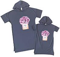 "Family look набор платьев для мамы и дочки ""coco shanel"" Family look"