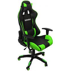 Кресло геймерское Bonro 2018 зеленый