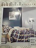 Комплект постільної білизни полуторний розмір Байка ( Фланель), фото 9