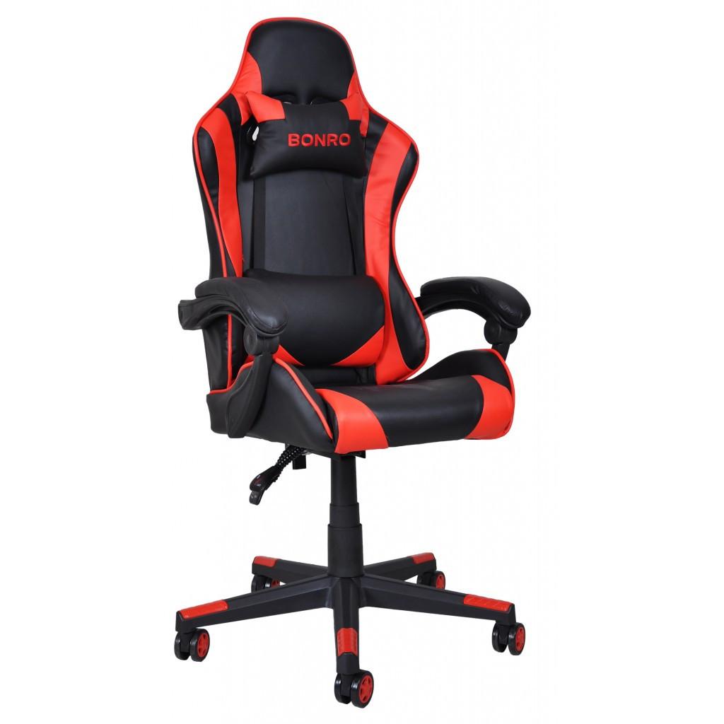 Кресло геймерское Bonro B-2013-2 красное