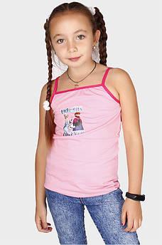 Майка детская розовая 107562M