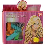 Чарівні бігуді Magic Leverag для волосся 18 шт комплект, фото 4