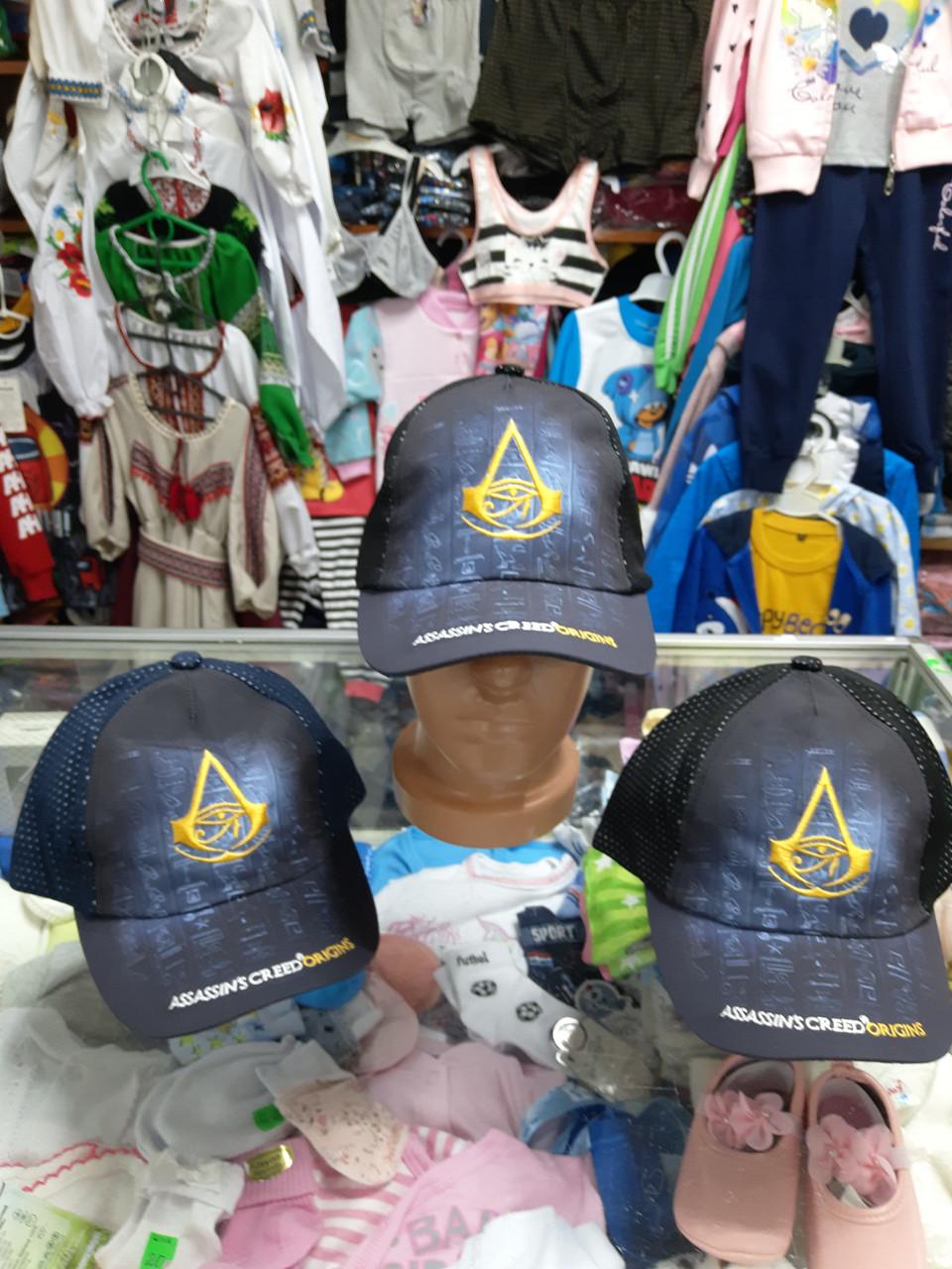 Хлопковая кепка бейсболка для мальчика 5 - 11 лет