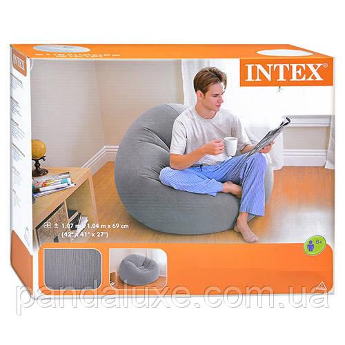 Надувное кресло 68579 размер  107х104х69 см, фото 2