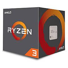 Процессор sAM4 AMD Ryzen 3 1200 (YD1200BBAFBOX) 3.1-3.4GHz 4яд. 4пот. L1 384kb L2 2MB L3 8MB DDR4 2666 65W BOX