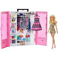Игровой набор для девочек Шкаф-чемодан с куклой Барби - Barbie Fashionistas Ultimate Closet Doll and