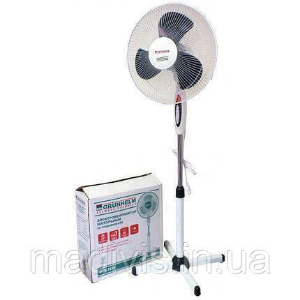 Вентилятор підлоговий з дистанційним управлінням Grunhelm GFS-5011R