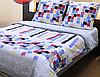 Двухспальное постельное белье ТЕП Мозаика