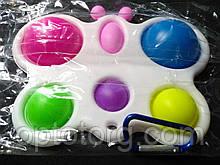 Симпл-димпл антистресс-игрушка бабочка 16*12 см