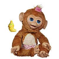 FurReal Friends Cuddles My Giggly Monkey Pet большая интерактивная Смешливая обезьянка от Hasbro