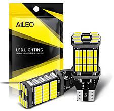 Лампа автомобильная AILEO 2PCS T15