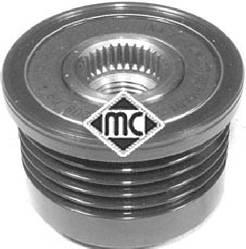 Ремінний шків генератора на Renault Kangoo 2001->2008 1.5 dCi (5 PK) — Metalcaucho - MC04914