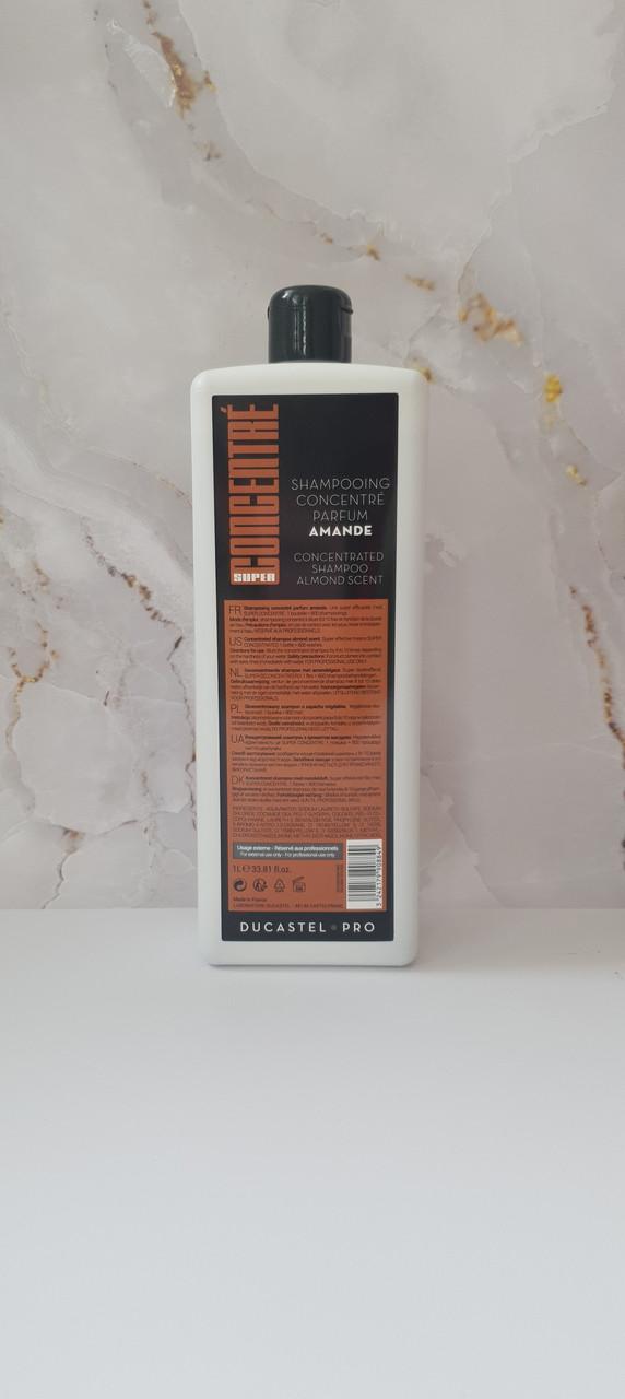 Сильноконцентрированный шампунь для всіх типів волосся з запахом мигдалю - DUCASTEL-1000 мл.