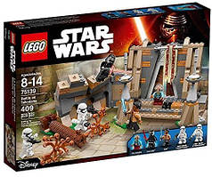 Конструктор Лего Звездные войны 75139 Бой на Такодане 409 деталей LEGO Star Wars Battle on Takodana Уценка
