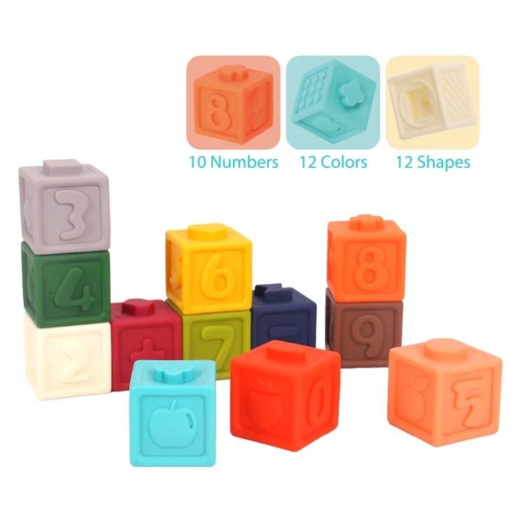 Силиконовые кубики 3D Tookyland