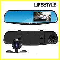 Видеорегистратор зеркало с одной камерой 138-E 3,8 авторегистратор