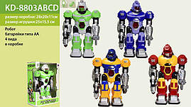 Робот на батар. KD-8803A | B | C | D (36шт | 2) 4 види, у кор. 28 * 20 * 11см, р-р іграшки - 25 * 15.5 * 10 см