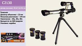 Телескоп C2130 (24шт | 2) в коробці 45,5 * 7,5 * 19,5 см