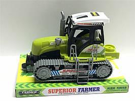 Трактор инерц. 668 (72шт 2) під слюдою 22*14*15см