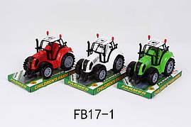 Трактор інерції FB17-1 (144шт   2) 3 віді, під слюдою 17,2 * 11,5 * 10см