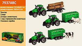 Трактор інерції. 7937ABC (120шт   2) 3 віді, у коробці 22,5 * 6 * 8,5 см