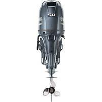 Двигун для човна Yamaha F50HETL - підвісний двигун для яхт і рибальських човнів, фото 3