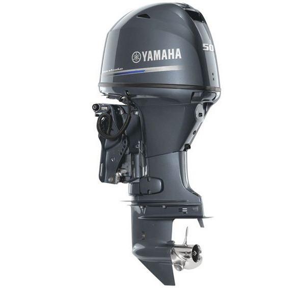 Лодочный мотор Yamaha F50HETL -  подвесной мотор для яхт и рыбацких лодок