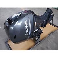 Двигун для човна Yamaha F50HETL - підвісний двигун для яхт і рибальських човнів, фото 4