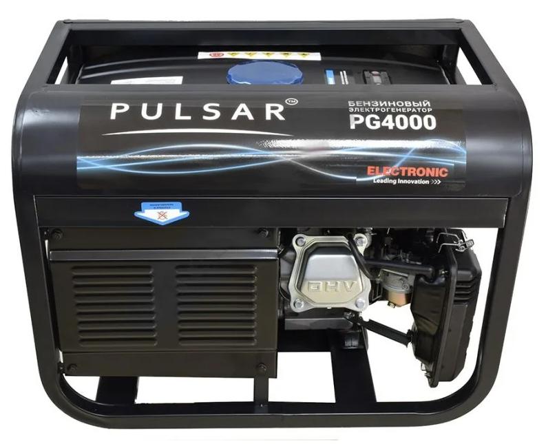 Генератор бензиновий Pulsar PG4000