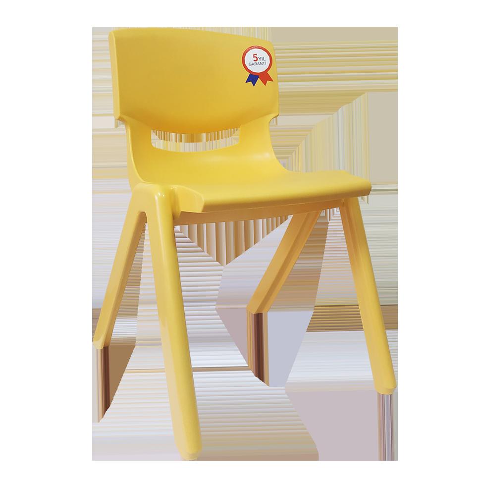 Стілець дитячий Irak Plastik Jumbo №2 жовтий