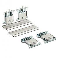 Раздвижная система для шкаф-купе Новатор 890 для 2х дверей весом до 80кг и рельса 3м