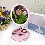 Дзеркало з LED підсвічуванням для макіяжу, Led Освітленої, фото 7