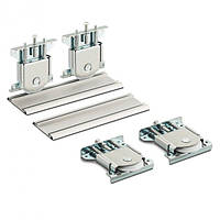 Раздвижная система для шкаф-купе Новатор 890 для 2х дверей весом до 80кг и рельса 2м
