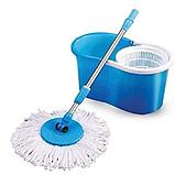 Универсальная швабра с отжимом-центрифугой и ведром Easy Mop, фото 2