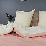 """Постільна білизна KrisPol """"Рожево-молочний"""", фото 2"""