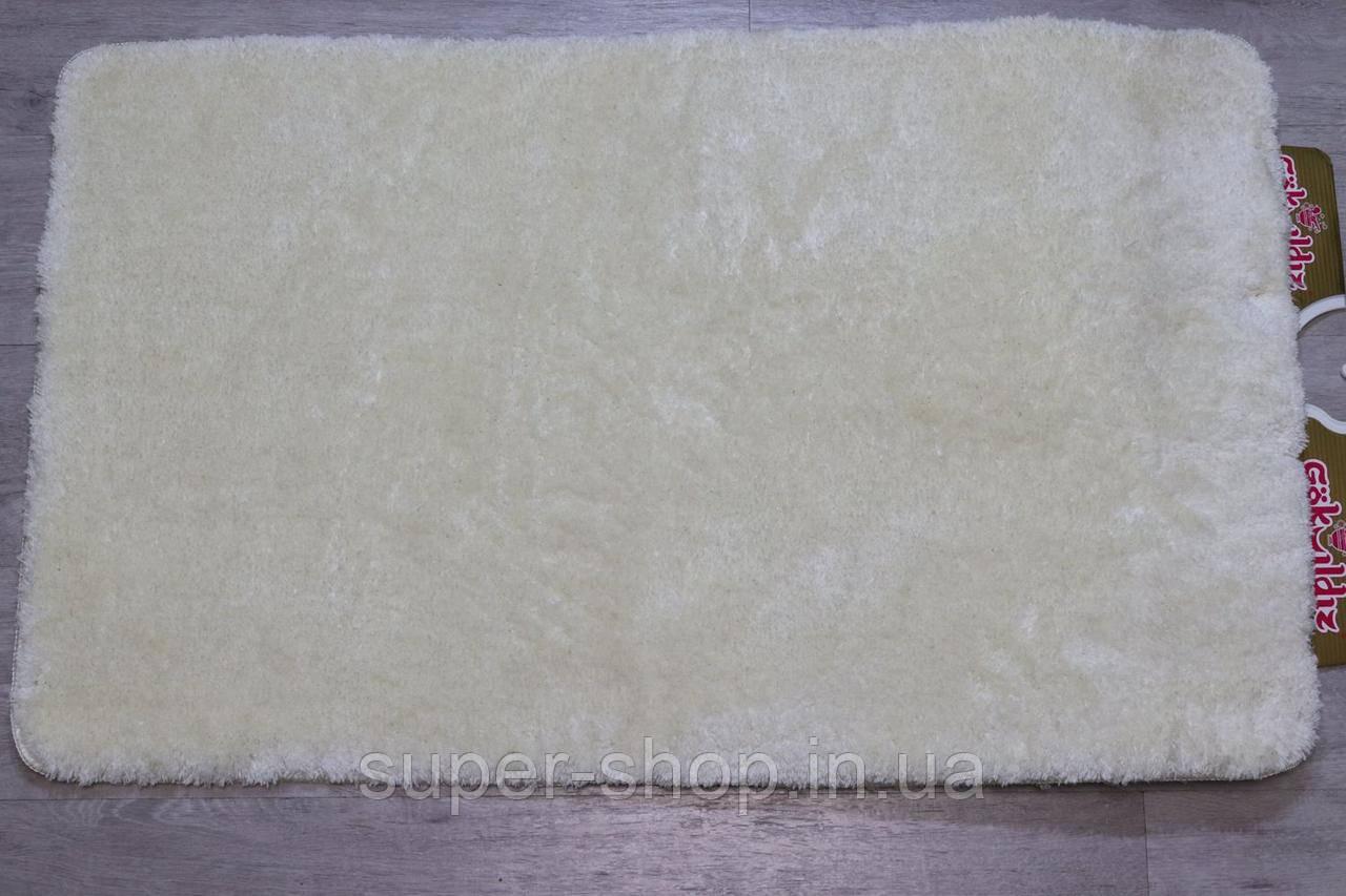 Комплект килимків для ванної та туалету Vonaldi 60x100 см акрил Туреччина молочні