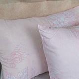 Набір подушок квіти на рожевому, фото 2