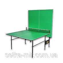 Тенісний стіл складаний S4S Стандарт, зелений