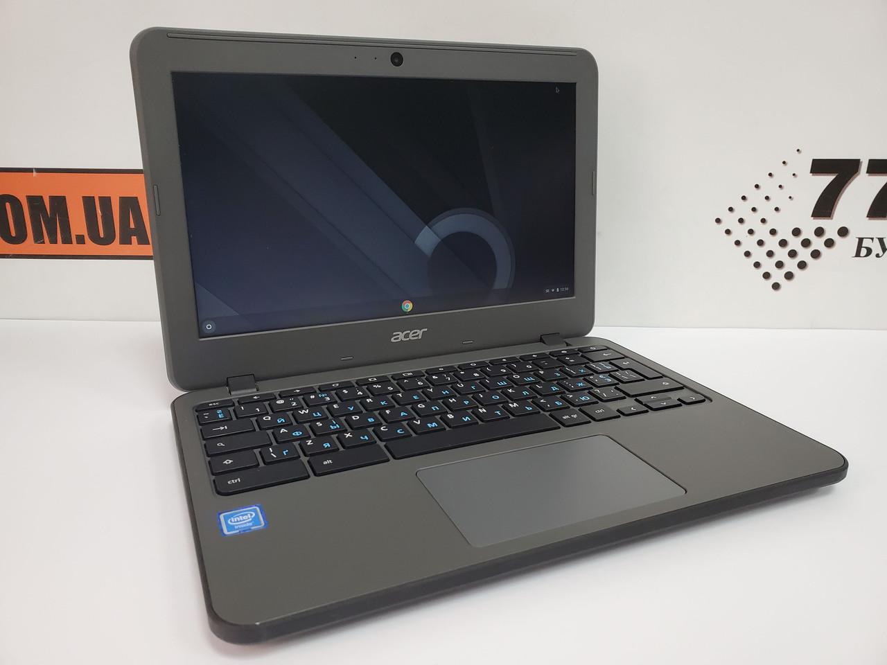 "Нетбук Acer Chromebook C731 N16Q13, 11.6"", Intel Celeron N3060 2x2.48GHz, RAM 4ГБ, eMMC Flash 24ГБ"