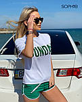 Женский костюм, трикотаж, р-р С-М; М-Л (зелёный), фото 3
